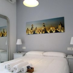 Отель Pension Cerdaña Барселона комната для гостей фото 4