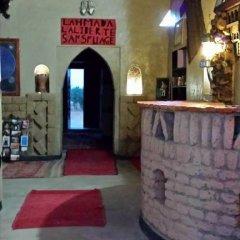 Отель Kasbah Bivouac Lahmada Марокко, Мерзуга - отзывы, цены и фото номеров - забронировать отель Kasbah Bivouac Lahmada онлайн интерьер отеля фото 2