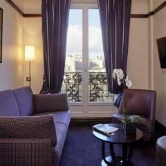 Отель Hôtel Pont Royal 5* Улучшенный номер с различными типами кроватей фото 4