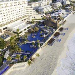 Отель Royal Solaris Cancun - Все включено Мексика, Канкун - 8 отзывов об отеле, цены и фото номеров - забронировать отель Royal Solaris Cancun - Все включено онлайн пляж фото 5