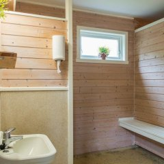Отель Nesset Fjordcamping ванная