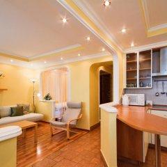 Апартаменты LikeHome Апартаменты Полянка Студия Делюкс с разными типами кроватей фото 6