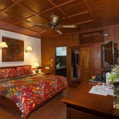 Отель Tropica Bungalow Resort комната для гостей фото 5