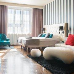Отель Scandic Paasi 4* Улучшенный номер с различными типами кроватей фото 6