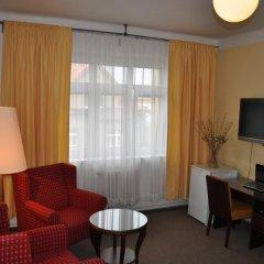 Hotel Svornost 3* Люкс с различными типами кроватей фото 18