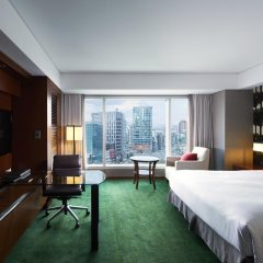 Отель InterContinental Seoul COEX 5* Улучшенный номер с разными типами кроватей фото 2