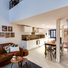 Апартаменты Sweet Inn Apartments - Rue Tardieu Париж комната для гостей фото 2