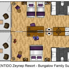 Zeynep Hotel 5* Люкс с различными типами кроватей фото 2