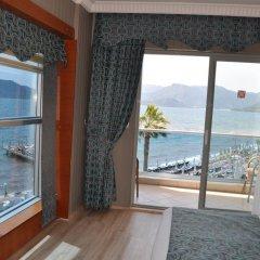 Mehtap Beach Hotel 3* Улучшенный номер с различными типами кроватей фото 5