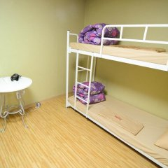 YaKorea Hostel Dongdaemun Кровать в общем номере с двухъярусной кроватью фото 9