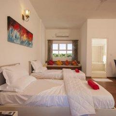 Отель Amra Palace 4* Улучшенный номер с различными типами кроватей фото 2