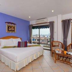 Отель Seven Oak Inn 2* Улучшенный номер с различными типами кроватей фото 7