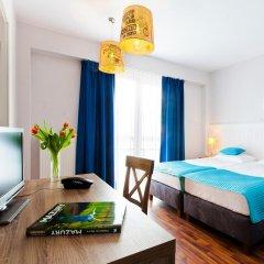 Отель Ach Mazury Stanica Mikolajki 3* Стандартный номер с 2 отдельными кроватями