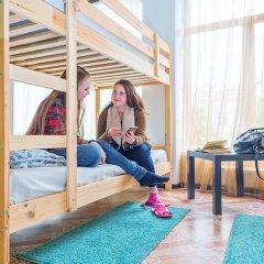 БМ Хостел Кровать в общем номере с двухъярусной кроватью фото 29