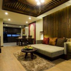 Отель Ao Nang Phu Pi Maan Resort & Spa 4* Люкс с различными типами кроватей фото 10