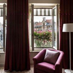 Отель Hôtel Parc Saint Séverin 4* Улучшенный номер с различными типами кроватей фото 4