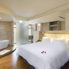 Отель Liberty Central Nha Trang 4* Номер Делюкс с различными типами кроватей фото 5