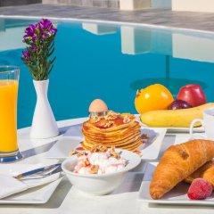 Отель Anemoessa Villa Греция, Остров Санторини - отзывы, цены и фото номеров - забронировать отель Anemoessa Villa онлайн питание фото 3