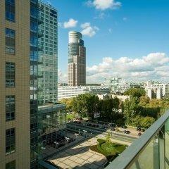 Отель Platinum Towers Central Apartments Польша, Варшава - отзывы, цены и фото номеров - забронировать отель Platinum Towers Central Apartments онлайн балкон