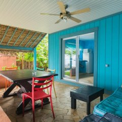 Отель Sunset Hill Lodge Французская Полинезия, Бора-Бора - отзывы, цены и фото номеров - забронировать отель Sunset Hill Lodge онлайн комната для гостей фото 4