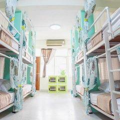 Kamin Bird Hostel Кровать в общем номере с двухъярусной кроватью фото 5
