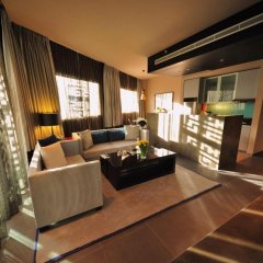 Отель The Boulevard Arjaan by Rotana 5* Студия с различными типами кроватей фото 3