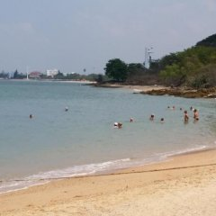 Отель Sea View Apartments Таиланд, На Чом Тхиан - отзывы, цены и фото номеров - забронировать отель Sea View Apartments онлайн пляж фото 2
