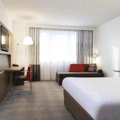 Отель Novotel Brussels City Centre 4* Улучшенный номер с разными типами кроватей фото 6