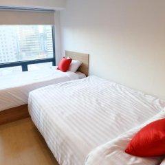 Отель STEP INN Myeongdong 1 3* Стандартный номер с различными типами кроватей фото 8