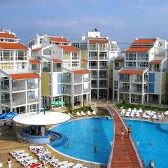 Отель Aparthotel Elit 2 Болгария, Солнечный берег - отзывы, цены и фото номеров - забронировать отель Aparthotel Elit 2 онлайн бассейн фото 2