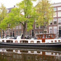 Отель Prinsenboot Нидерланды, Амстердам - отзывы, цены и фото номеров - забронировать отель Prinsenboot онлайн приотельная территория фото 2