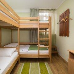Баллет Хостел Кровать в женском общем номере с двухъярусной кроватью