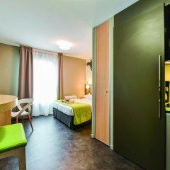 Отель Appart'City Confort Le Bourget - Aéroport Студия с различными типами кроватей фото 9