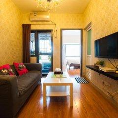 Апартаменты Shenzhen Grace Apartment Улучшенные апартаменты с различными типами кроватей фото 10