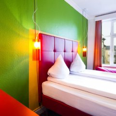 Отель Annex Copenhagen 2* Стандартный номер с различными типами кроватей (общая ванная комната) фото 2