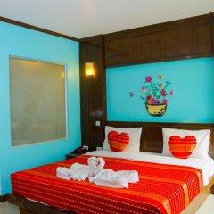 Hawaii Patong Hotel 3* Номер Делюкс с двуспальной кроватью фото 8