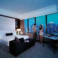Singapore Marriott Tang Plaza Hotel 5* Номер Делюкс с различными типами кроватей фото 2