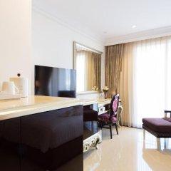 Отель LK President Номер Делюкс с различными типами кроватей фото 5