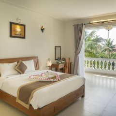 Отель Luna Villa Homestay 3* Номер Делюкс с различными типами кроватей фото 9