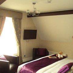 Отель Hallmark Inn Manchester South 3* Представительский номер с различными типами кроватей фото 10