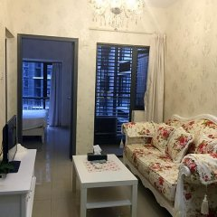 Апартаменты Shenzhen Grace Apartment Улучшенные апартаменты с различными типами кроватей фото 16