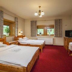 Отель Pensjonat Zakopianski Dwór 3* Стандартный номер с различными типами кроватей фото 2