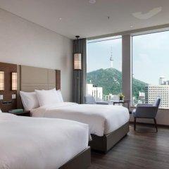 Отель Courtyard by Marriott Seoul Namdaemun 4* Номер Делюкс с различными типами кроватей фото 4