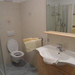Отель Huterhof Сарентино ванная