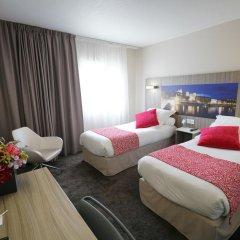 Отель Best Western Saphir Lyon 4* Стандартный номер с различными типами кроватей фото 5