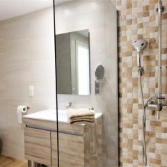 Отель Santa Clara Apartamento Испания, Торремолинос - отзывы, цены и фото номеров - забронировать отель Santa Clara Apartamento онлайн ванная