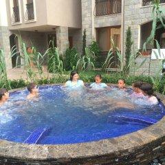 Отель Cascadas 7 Studio Болгария, Солнечный берег - отзывы, цены и фото номеров - забронировать отель Cascadas 7 Studio онлайн бассейн фото 2