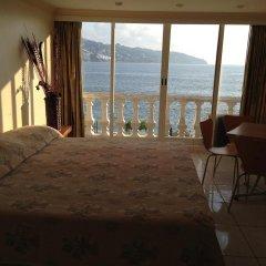 Отель Apartamento Estrella Del Mar Acapulco Студия с различными типами кроватей