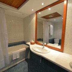 Отель Grand Hotel Shumen Болгария, Шумен - отзывы, цены и фото номеров - забронировать отель Grand Hotel Shumen онлайн ванная фото 2