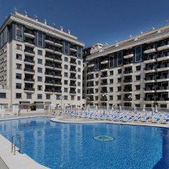 Отель Apartamentos Nuriasol Испания, Фуэнхирола - 7 отзывов об отеле, цены и фото номеров - забронировать отель Apartamentos Nuriasol онлайн бассейн фото 3